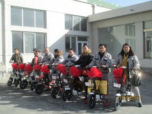 劳动模范奖励电动车