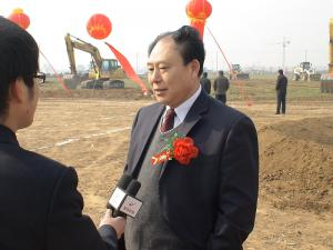 Hebi TV station to interview Feitian construction project